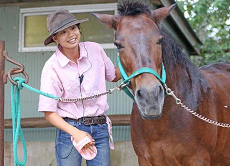 動物好き必見!マザー牧場のスタッフ募集中!動物と触れ合いながら、毎日楽しい時間を過ごせますよ